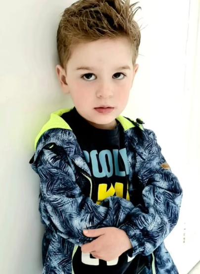 Diện mạo của Stormy khi 3 tuổi. Ảnh: Dailymail.