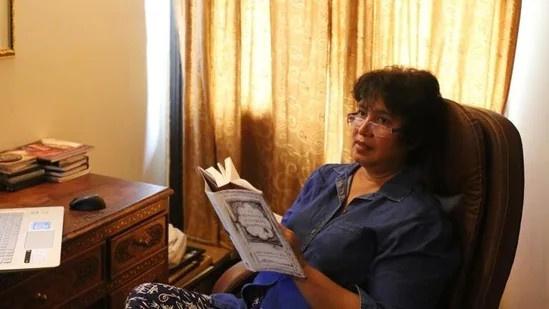 Nữ nhà văn Taslima Nasreen.