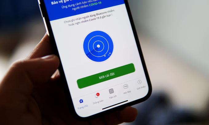 Bộ Y tế đề nghị phạt người dùng smartphone không cài Bluezone