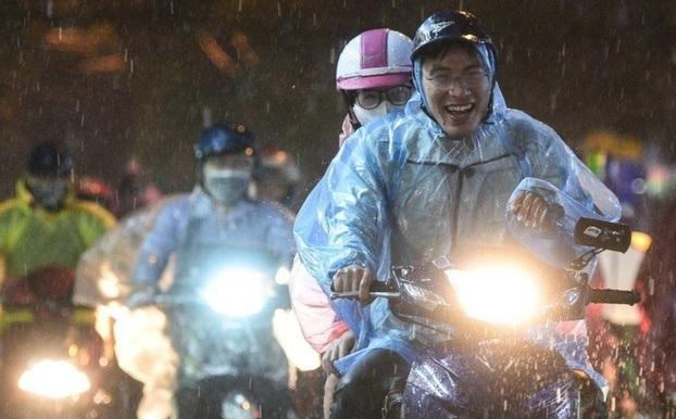 Hà Nội duy trì trạng thái mưa dông trong tuần này