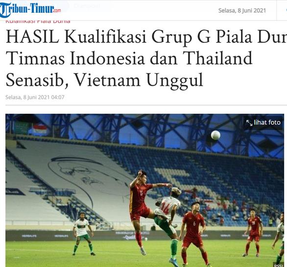 Báo chí Indonesia chê đội tuyển nước nhà