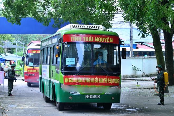 Thái Nguyên khẩn trương truy tìm công nhân từ vùng dịch Bắc Giang vê