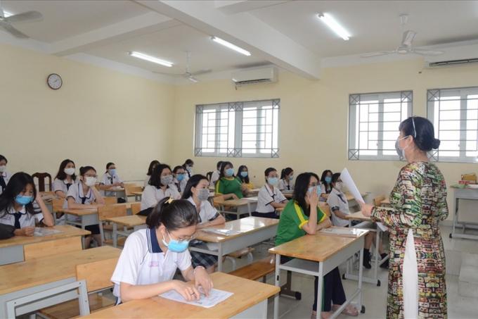 TPHCM thông qua phương án thi tốt nghiệp THPT năm 2021