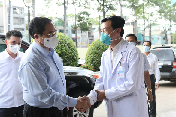 Thủ tướng trực tiếp kiểm tra phòng chống dịch COVID-19 tại TP.HCM