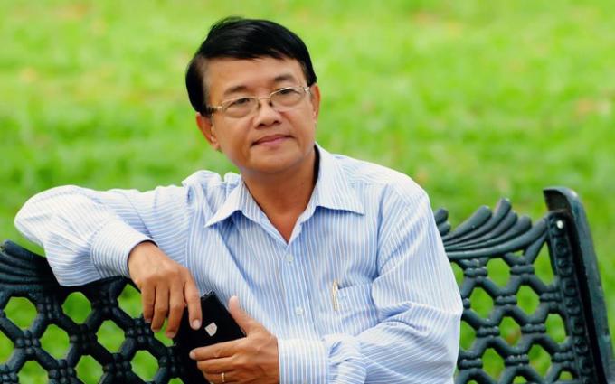 Nhà thơ Huỳnh Dũng Nhân.