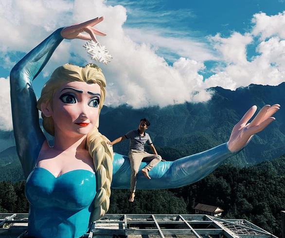 Tác giả tượng Elsa ở Sapa gửi tâm thư tới cộng đồng