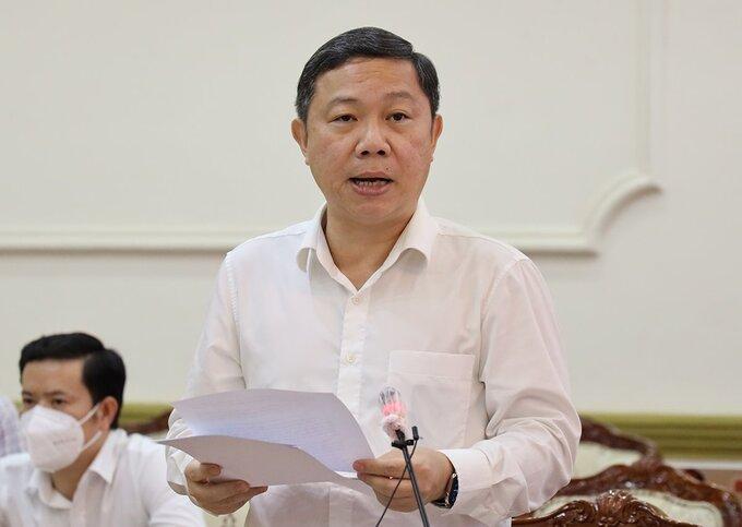 Phó chủ tịch UBND TP HCM Dương Anh Đức