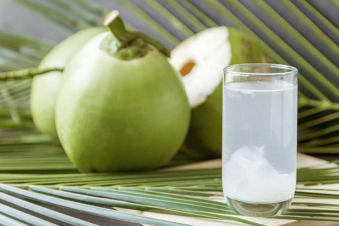 Uống nước dừa sau khi tiêm vaccine Covid-19 giúp sức khỏe mau hồi phục