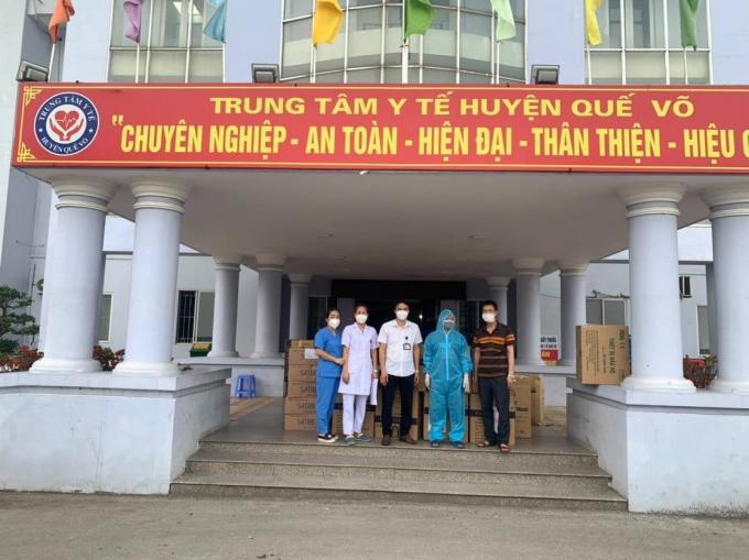 Tặng VTYT tại TTYT Quế Võ _ Bắc Ninh