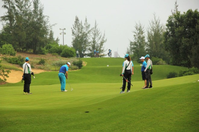 Sân golf FLC Quy Nhơn.