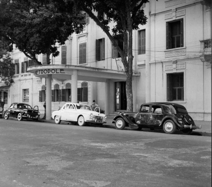 Khách sạn Metropole trước năm 1954