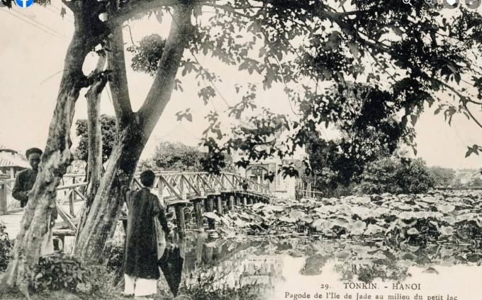 Cầu Thê Húc & Đền Ngọc Sơn - 1906