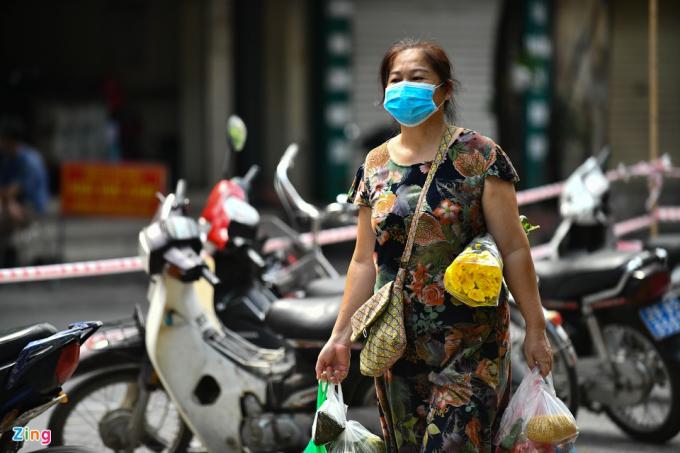 Bà Nguyễn Thị Kim Dung (60 tuổi), chia sẻ: