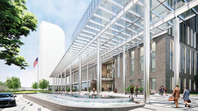 Mỹ sắp xây Đại sứ quán 1,2 tỷ USD lấy cảm hứng từ Vịnh Hạ Long và khung cảnh Hà Nội