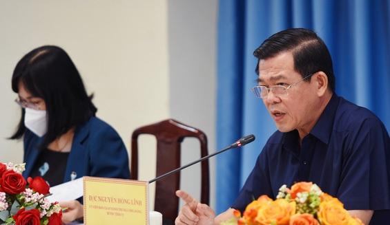 Bí thư Tỉnh ủy Đồng Nai Nguyễn Hồng Lĩnh