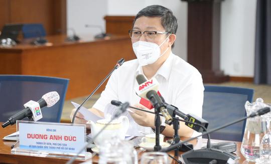 Ông Dương Anh Đức - phó chủ tịch UBND TP.HCM - Ảnh: THẢO LÊ