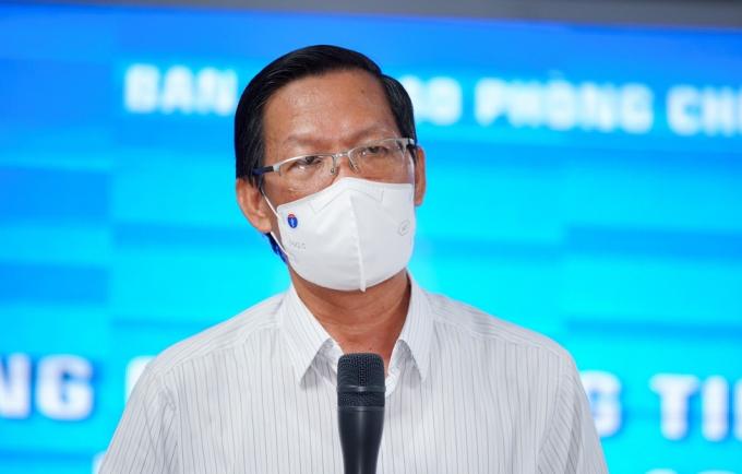 Chủ tịch UBND TP.HCM Phan Văn Mãi. Ảnh: Chí Hùng.