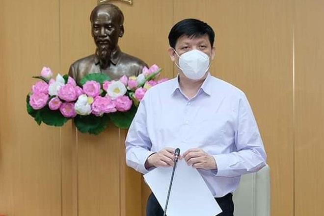 Bộ trưởng Bộ Y tế Nguyễn Thanh Long (Ảnh: Trần Minh).