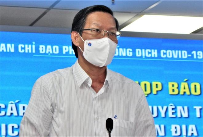 Ông Phan Văn Mãi, Chủ tịch UBND TPHCM (Ảnh: Hữu Khoa).