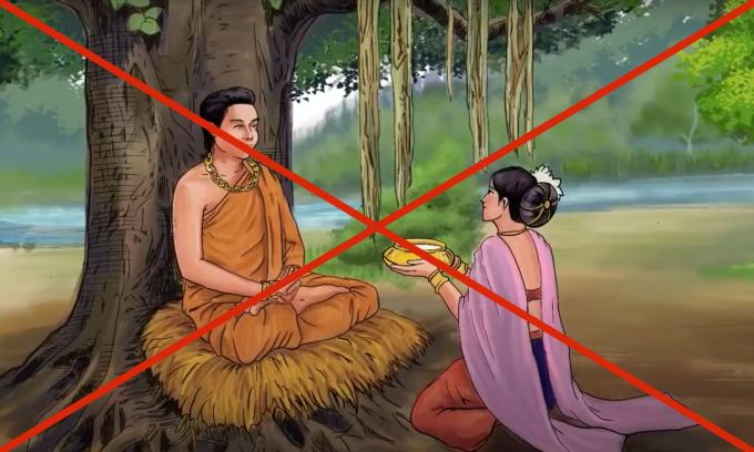 Hình ảnh cắt ghép báng bổ Phật giáo khiến cộng đồng mạng tức giận