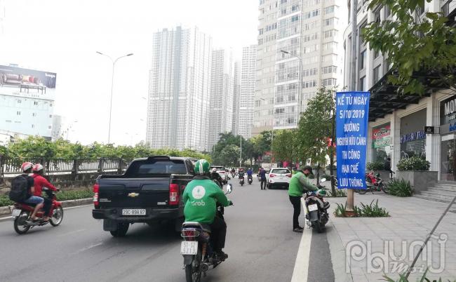 Kể từ ngày 5/10, tuyến đường này sẽ hạn chế xe lưu thông để phục vụ cho công tác thi công.