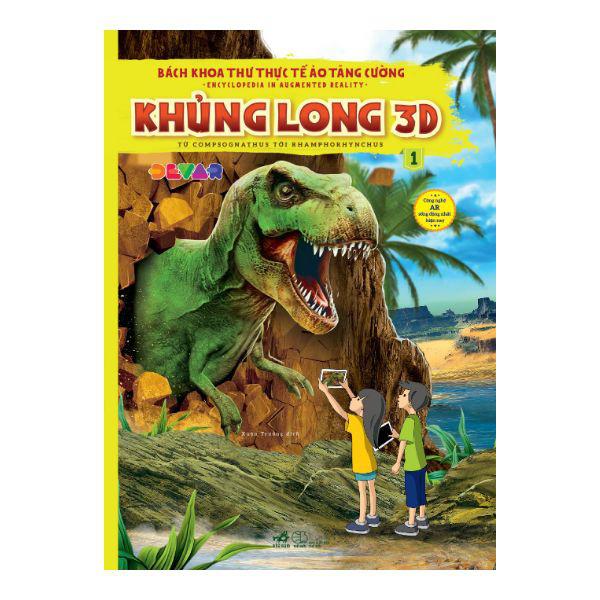 """""""Bách khoa thư thực tế ảo tăng cường - Khủng long 3D"""" - Thế giới hùng vĩ của khủng long"""