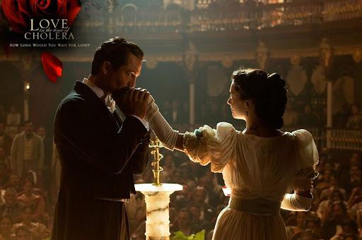 """""""Love in the Time of Cholera"""" trong phiên bản điện ảnh."""