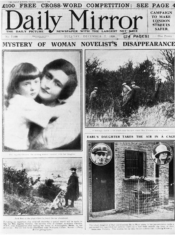 Sự mất tích của nữ nhà văn tốn không ít giấy mực của báo chí