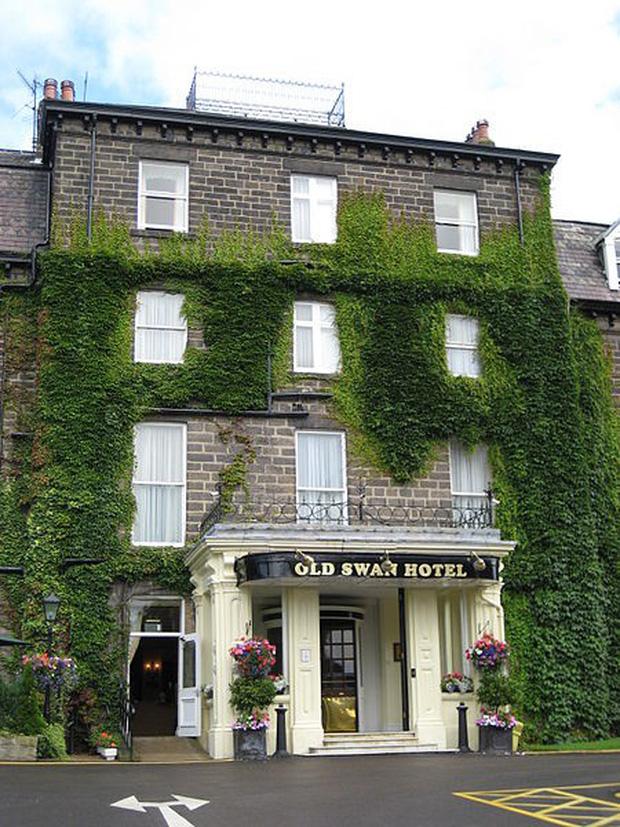 Khách sạn Old Swan -Swan Hydro trước đây, nơi nữ nhà văn được tìm thấy sau 11 ngày mất tích