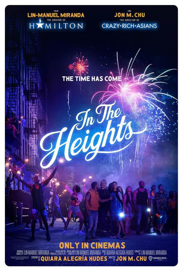 """Poster vừa được tiết lộ của """"In The Heights"""""""