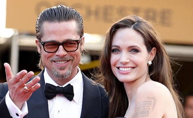 Brad Pitt và Angelina Jolie thuở còn mặn nồng.