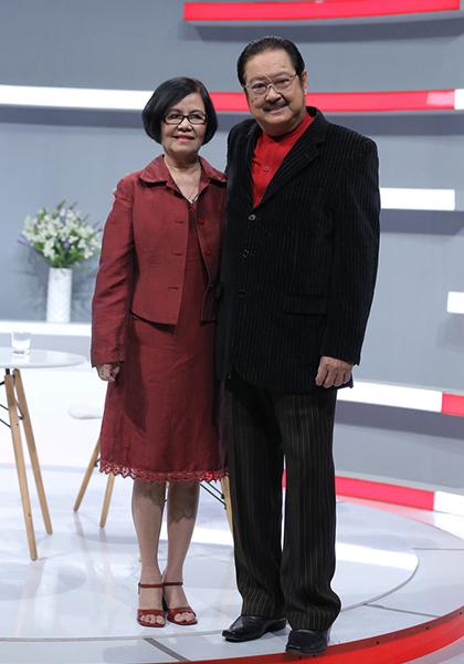Vợ chồng nghệ sĩ Nguyễn Chánh Tín