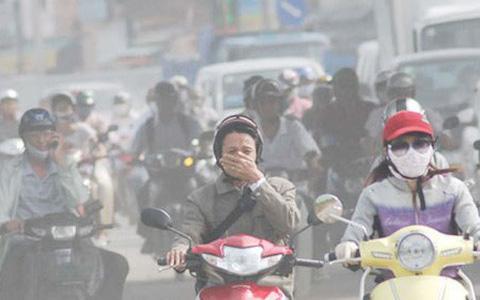 Không khí ô nhiễm, Tổng cục Môi trường khuyên người Hà Nội hạn chế ra ngoài
