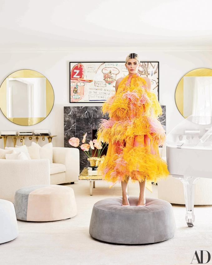 Nhà của Kylie Jenner, thành viên trẻ nhất nhàJenner-Kardashian trong căn nhà của cô ởHidden Hills, California tháng 3 vừa qua.