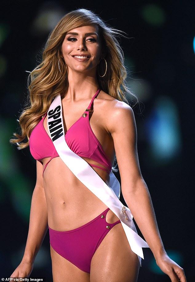 Năm ngoái, cuộc thi cũng chứng kiến hoa hậu chuyển giới đầu tiên, hoa hậu Tây Ban Nha, Angela Ponce (Ảnh: AFP).