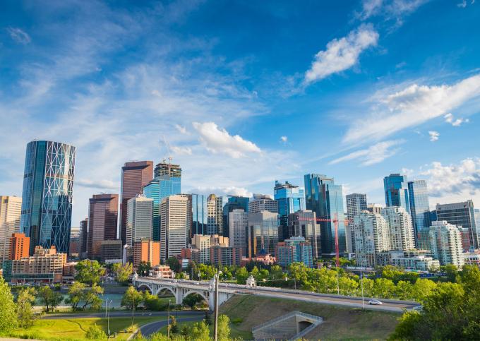 Thành phố Calgary, Canada (Ảnh: matadornetwork).