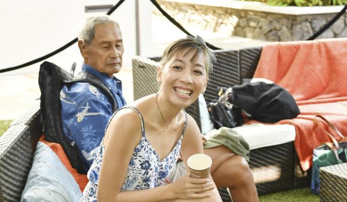 Mattie Đỗ tại Liên hoan phim quốc tế thường niên Hawaii ởHonolulu (Ảnh:Amy Sussman/Getty Images).