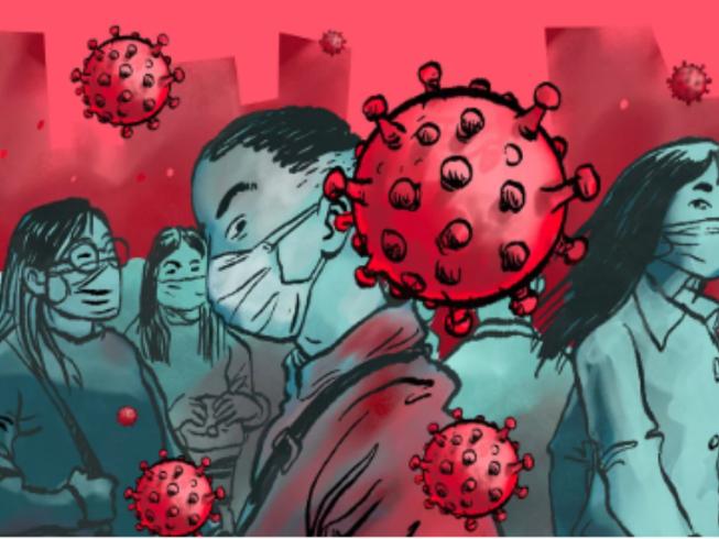 Số ca lây nhiễm virus corona ngày càng gia tăng (Ảnh: scmp)
