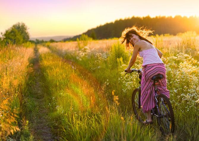 Thiên nhiên giúp phụ nữ hạnh phúc, khỏe mạnh và sáng tạo hơn.