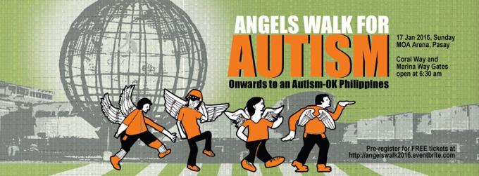 Cuộc thi Đi bộ thiên thần cho người tự kỷ (