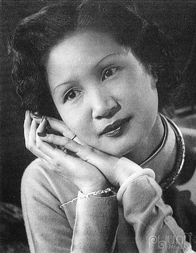 Họa sỹ Lê Thị Lựu.