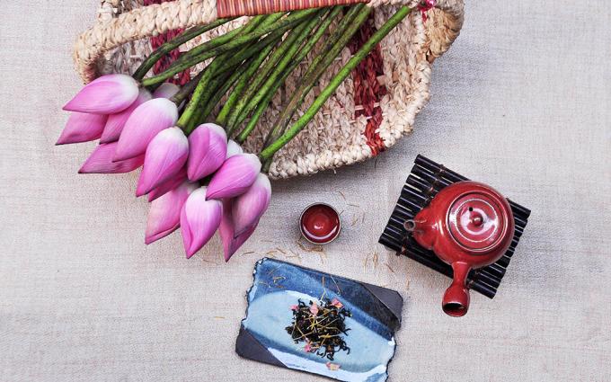 Trà sen, phong cách tao nhã của người Hà Nội cũ