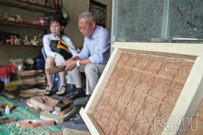 Chất lượng sản phẩm của làng thu hút khách hàng từ nhiều nơi trên cả nước.