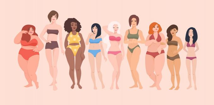 Hãy cùng nhau tôn vinh sự đa dạng và khác biệt của cơ thể (Ảnh minh họa: Shutterstock).
