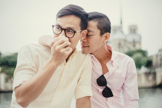 Tình yêu của cặp đôi Adrian Anh Tuấn và Sơn Đoàn có một cái kết hạnh phúc (Ảnh: internet).